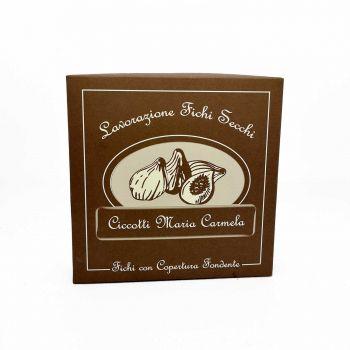 Fichi ricoperti al cioccolato fondente