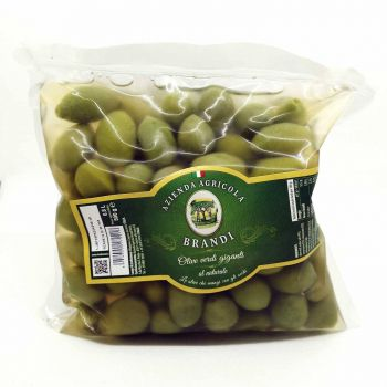 Olive verdi giganti al naturale - busta