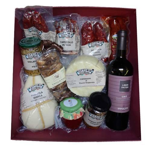 Confezione regalo prodotti tipici calabresi