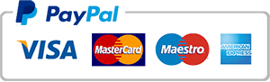 Paga con carta di credito usando PayPal