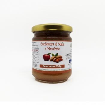 Confettura di mele e mandorle
