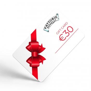 Gift Card Fattorie Covelli